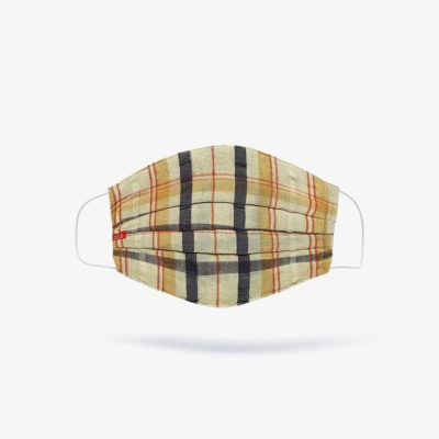 Tartan Plaid Check Dressy Fashion Mask