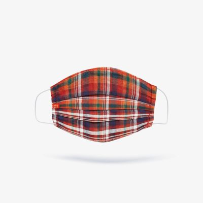 Royal Stewart Red Check Fashion Mask