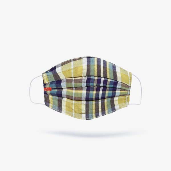 Tartan, Madras & Beige Check Fashion Mask (Set of 3)