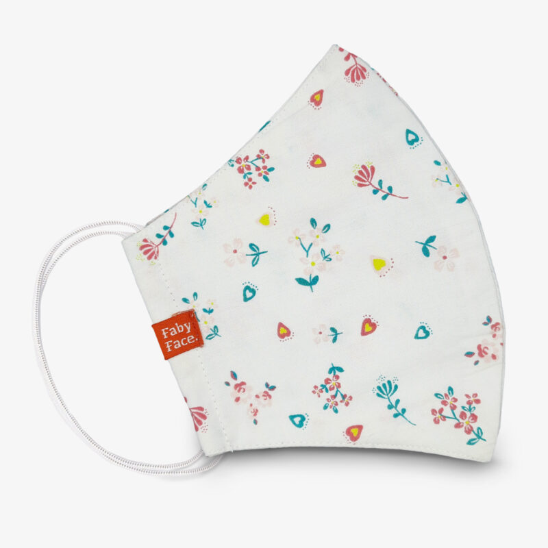 FabyFace - Floral Pattern Fashion Mask FFMD-15
